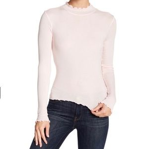 Abound Lettuce Edged Knit Top